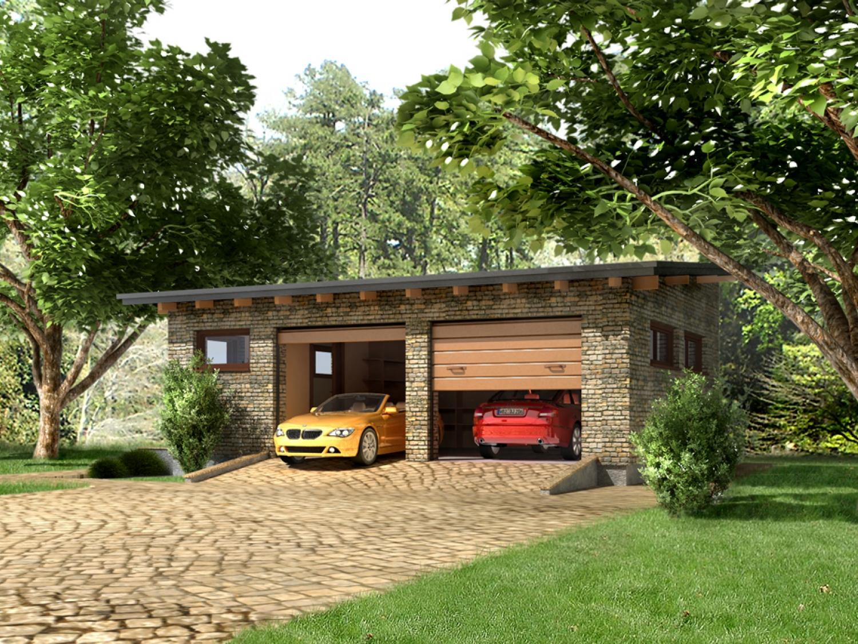 Namo projektas Garažas 1